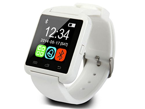 Micromax GC222 COMPATIBLE Smart Android U8 Bracelet Watch and Activity Wristband, Wireless Bluetooth Connectivity Pedometer, WHITE, BY CASVO  available at amazon for Rs.849