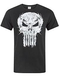 Marvel The Punisher Logo Men's T-Shirt
