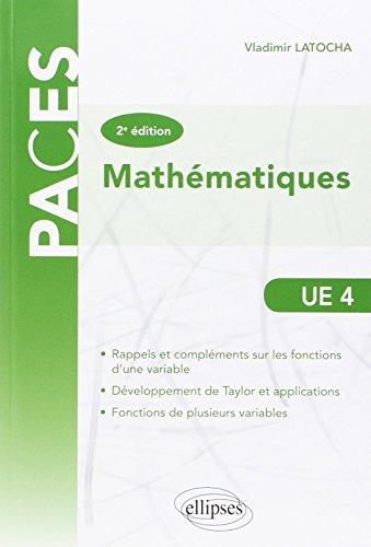 Mathématiques PACES UE4
