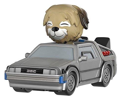 Funko Figurine Retour vers le Futur Delorean Avec Einstein Dorbz Ride 18cm 0849803095208