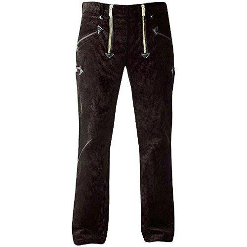 OYSTER TrenkerCord Zunft-Hose Arbeits-Hose - 50255 - breite Rippe - schwarz - Größe: 46