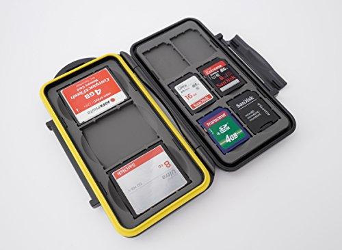 Ares Foto® MC-SD6CF3 Speicherkarten Schutzbox / Memory Card Case / Card Safe / Tasche / Etui / für 3 CF (Compact Flash) und 6 SD Karten - New Edition 2017