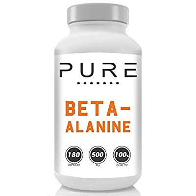 Bodybuilding Warehouse Pure Beta Alanine Capsules / 500mg