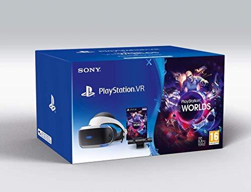 Sony Playstation VR Virtual Reality Brille + Kamera + VR Worlds V2 (EU)