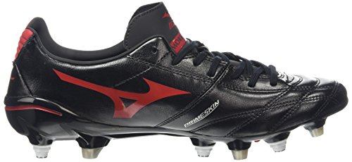 Mizuno Morelia Neo Ps Mix, Chaussures de Rugby homme Noir - Black (Black/Chinese Red)