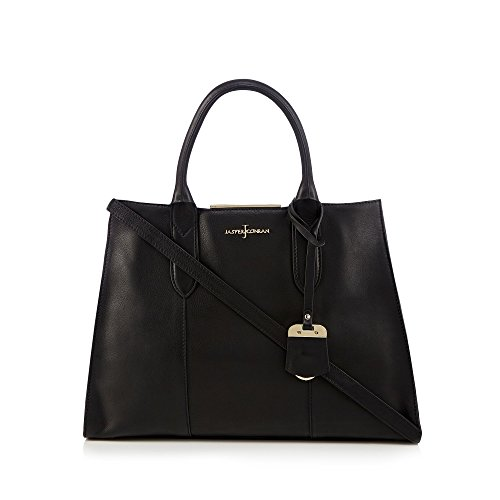 j-by-jasper-conran-womens-black-leather-tote-bag