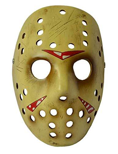 Scary Halloween Kostüm Maske COS Maske Für Dekoration/Sammlung, Jason Voorhees