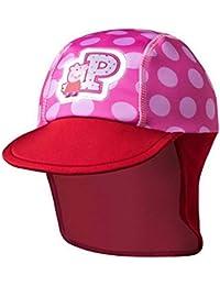 Peppa Pig Authentic Summer Cap Hat Light Pink Dark Pink Age 3-6 Years