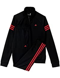 adidas Teamsport Suit - Chandal para mujer, color negro, talla S