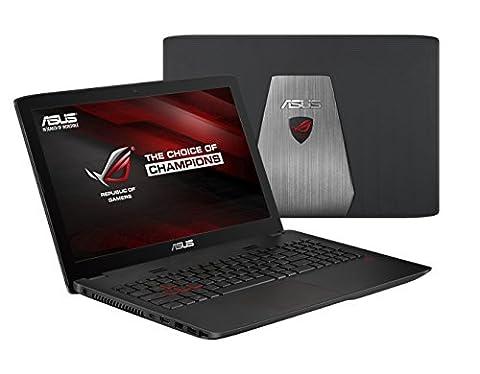 Asus ROG GL552VW-CN277T 39,62 cm (15,6 Zoll Full HD) Gaming Notebook (Intel Core i7-6700HQ, 8GB RAM, 2TB HDD, 256GB SSD, NVIDIA GeForce GTX 960M 2GB, Windows 10 Home)