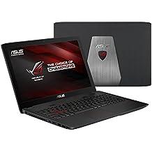 """ASUS ROG GL552VW-CN277T - Portátil de 15.6"""" (Intel Core I7-6700HQ de 2.6 GHz, DVD±RW, Touchpad, Windows 10 Home)"""