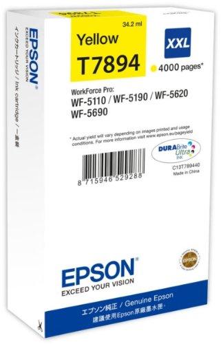Preisvergleich Produktbild Epson C13T789440Tintenpatrone gelb
