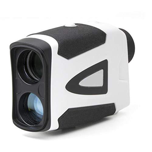 KCaNaMgAl Entfernungsmesser für Golf, 600/1000/1500 Meter Geschwindigkeitsmessung Höhenmesswinkel Golfballistische Kompensation Entfernungsmesser-Teleskop,Black,BZ600M