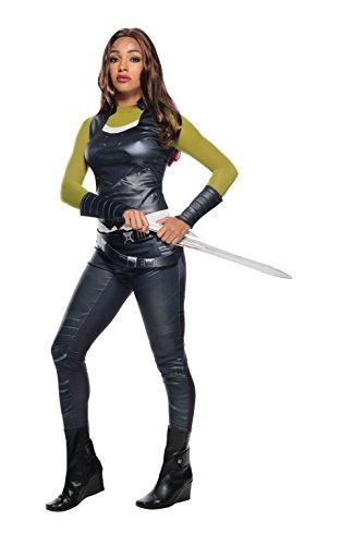 Rubie´s Damen Kostüm Gamora Deluxe Mehrfarbig Größe ()