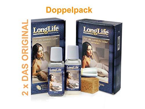 Longlife Leder Pflege Set (2x) für Himolla Longlife Leder