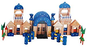 Architektur Baukasten Holz und Magneten – 250 Teile