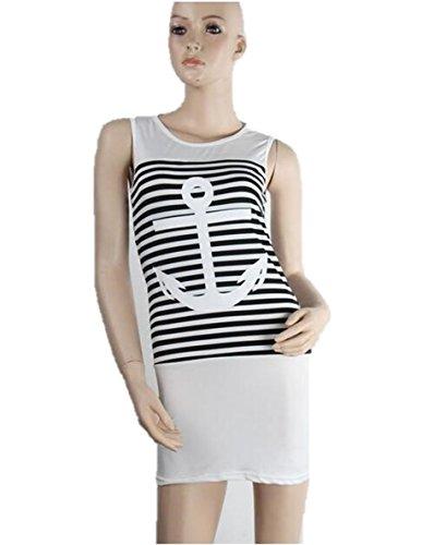 KingField - Robe - Chemise - Femme Blanc - Blanc