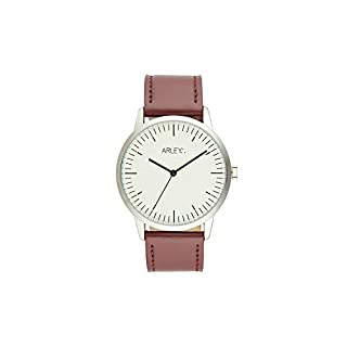 Arley Unisex Adult Analogue Quartz Watch with Leather Strap ARL903
