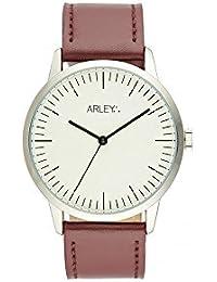 Arley Reloj Analogico para Unisex de Cuarzo con Correa en Cuero ARL903