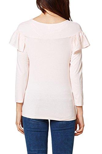 ESPRIT Damen Langarmshirt Rosa (Pastel Pink 695)