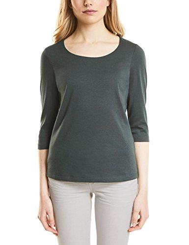 Street One Damen T-Shirt 311693 Pania, Grün (Chilled Green 11348), 38 - Für Immer Grünes T-shirt