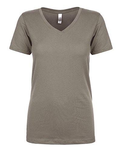 Next Level - T-shirt - Femme Gris - WARM GRAY