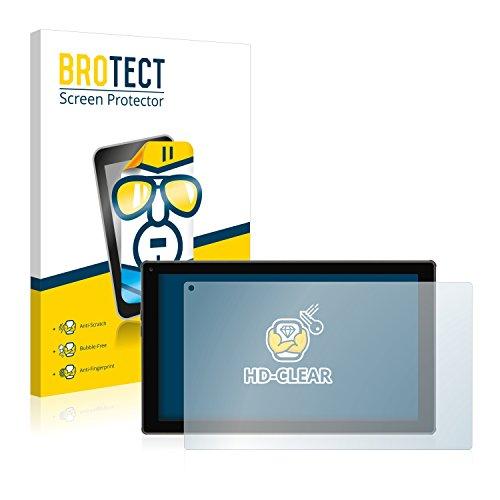 BROTECT Schutzfolie kompatibel mit Blaupunkt Endeavour 101M [2er Pack] - klarer Displayschutz