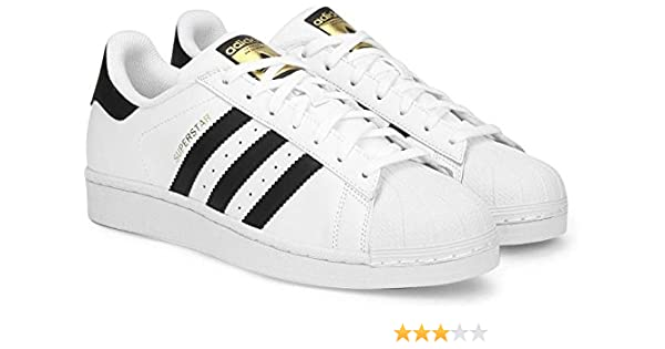 best website e4900 d445c Adidas Unisex White Sneakers (9.5)  Buy Online at Low Prices in India -  Amazon.in