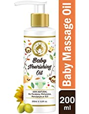 Mom World Baby Nourishing Oil For Baby Massage 200ml With