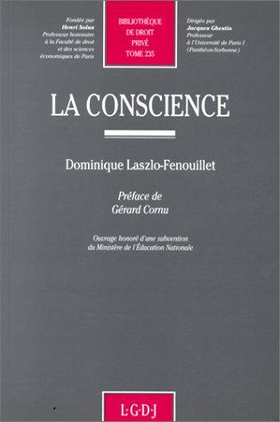 La Conscience, tome 235 par D. Laszlo-Fenouillet