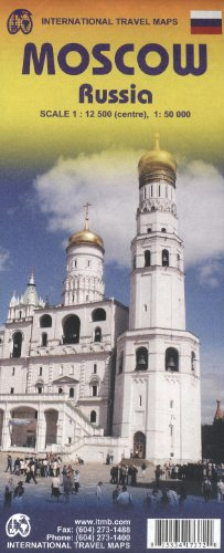 MOSCOU - 1/50.000 - 1/12.500 par ITM