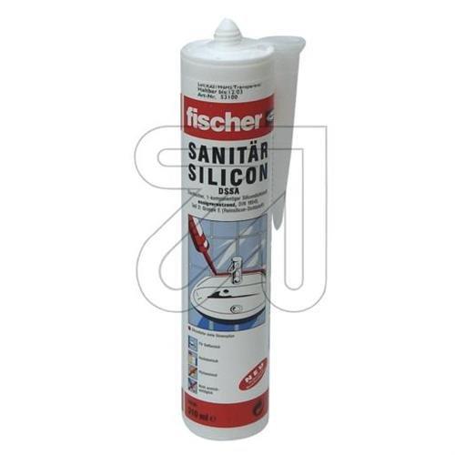 Fischer DSSA TP 53100 - Silicone per sanitari