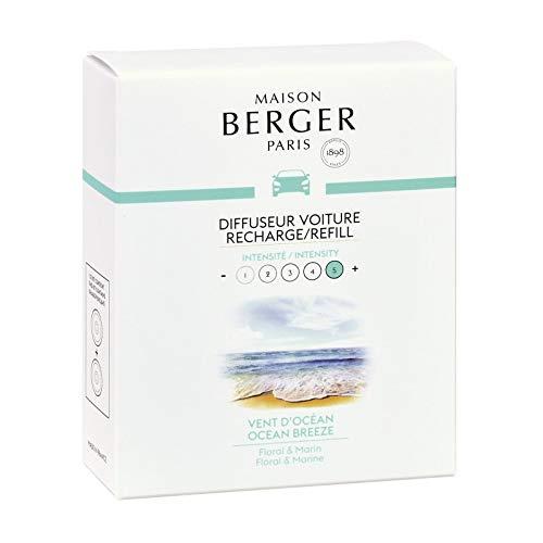 Maison Berger - Cofanetto 2 Ricariche per diffusore Auto Vent d'O