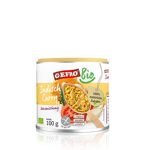 GEFRO Bio Würzmischung Indisch Curry 100g