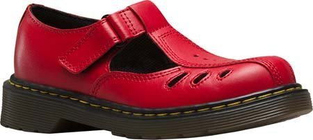 Dr Martens Bambini Core Ashby Cut Out t – Scarpe Rosso T Lamper Red
