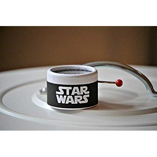 Caja de música de manivela con la música de La guerra de las Galaxias. Melodía de Star Wars. 10