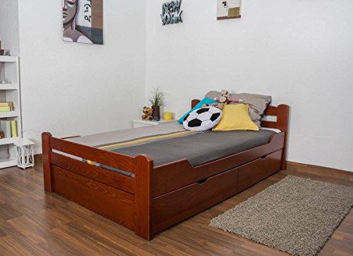 Kirsche Holz Einzelbetten (Jugendbett