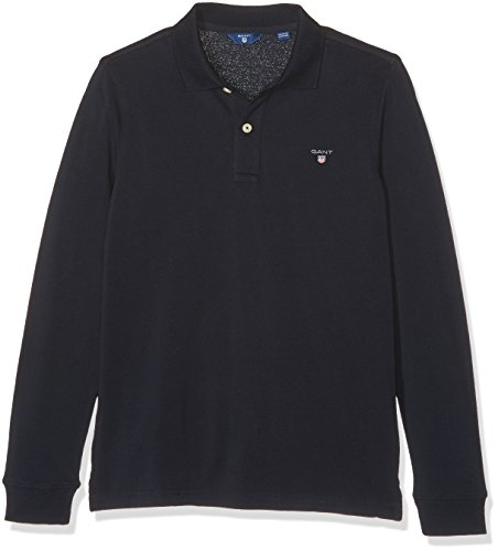 Gant the Original Ls Pique, Polo Bambino, Blu (Marine), 7-8 Anni