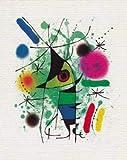 Leinwandbild auf Keilrahmen: Joan Miró,