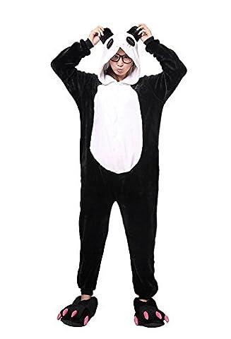 LATH.PIN Rosa Einhorn Pyjama Tieroutfit Tierkostüme Schlafanzug Tier Onesize Sleepsuit mit Kapuze Erwachsene Unisex Fleece-Overall Kostüm (XL,