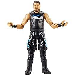 WWE- Kevin Owens Personaggio in Scala Articolato, Costume da Combattimento, Giocattolo per Bambini 6+ Anni, 15 cm, GCB62