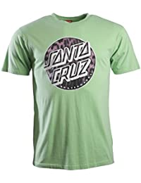 Santa Cruz Leopardskin Dot T-Shirt Homme