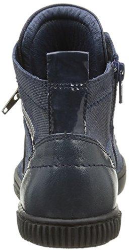 Pataugas Banjou F4b, Baskets Hautes Femme Bleu (Marine)