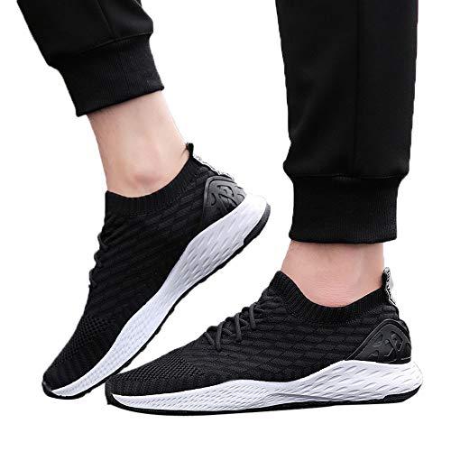 MEIbax Uomo Scarpe Running Basse Scarpe da Escursionismo Leggere Lace-up  Scarpe Running estive Sneakers Mesh Casual Antiscivolo Traspirante ecb39e723d6