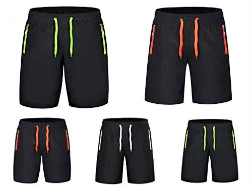 COMVIP - Pantaloncini - Straight  - Basic - Uomo Orange E
