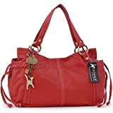 CATWALK COLLECTION - MIA - Bolso estilo shopper - Cuero - Rojo