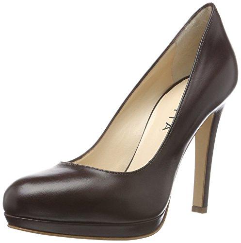 Evita Shoes Cristina, Escarpins Femme Braun (dunkelbraun 22)