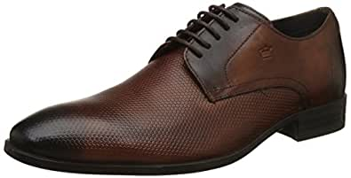 Louis Philippe Men's Tan Formal Shoes - 7 UK/India (41 EU)(LPBCL27902)