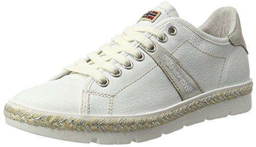 Napapijri Footwear Damen Lykke Sneaker, Weiß (White), 38 EU