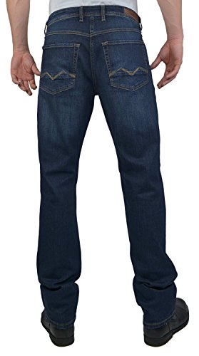MAC Herren Straight Leg Jeanshose Arne Pipe dark vintage wash